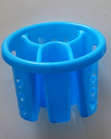 Vibrant plastic cutlery drainer - colour choices (Code 1438)